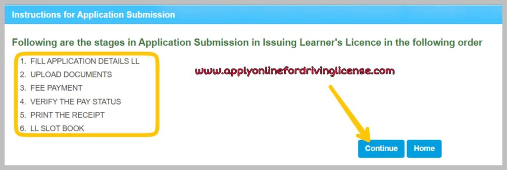 apply-for-learning-license-online