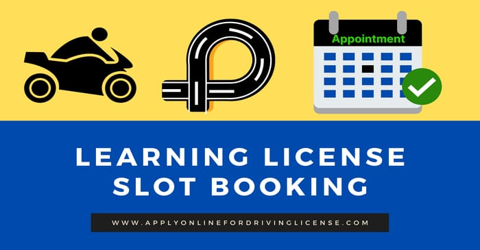 learning license slot booking