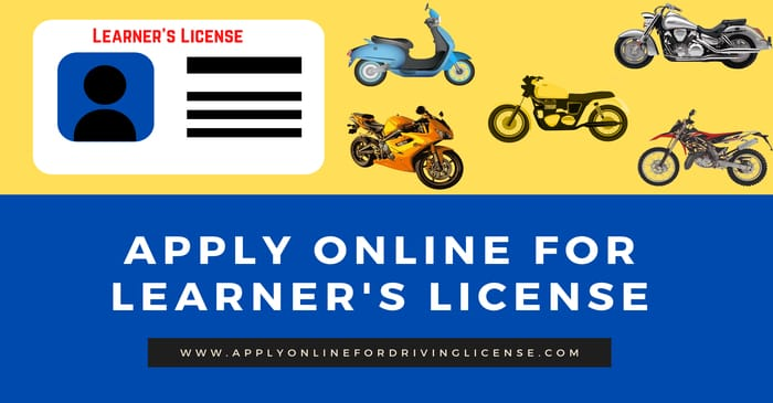 apply online for learning license